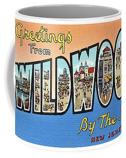 Wildwood Greetings - Version 4 Coffee Mug