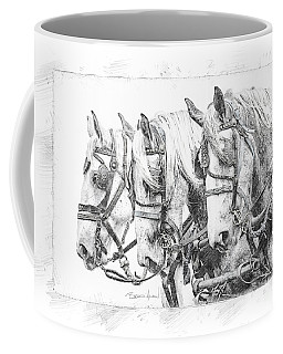 Grey Trio Coffee Mug