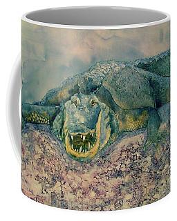 Grinning Gator Coffee Mug