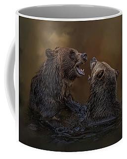 Grizzlies At Play Coffee Mug