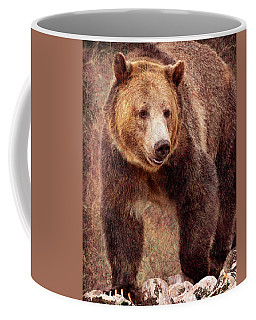 Coffee Mug featuring the photograph Grizzly by Mary Hone