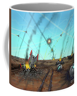Ground Battle Coffee Mug