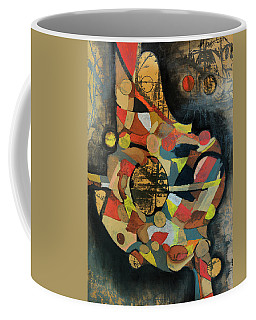 Coffee Mug featuring the painting Grounded In Art by Mark Jordan