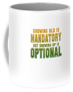 Growing Up Coffee Mug