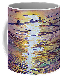 Groynes And Glare Coffee Mug