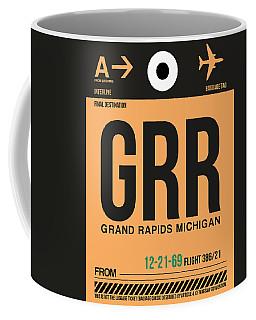 Grr Grand Rapids Luggage Tag I Coffee Mug