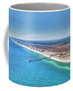 Gsp Pier And Beach Coffee Mug