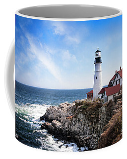 Coffee Mug featuring the photograph Guardian Of The Sea by Scott Kemper