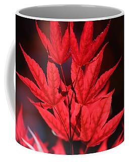 Guardsman Red Japanese Maple Leaves Coffee Mug