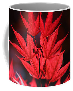 Guardsman Red Japanese Maple Leaves Coffee Mug