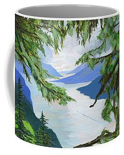 Guided Through The Fjords Coffee Mug