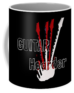 Guitar Hoarder Coffee Mug