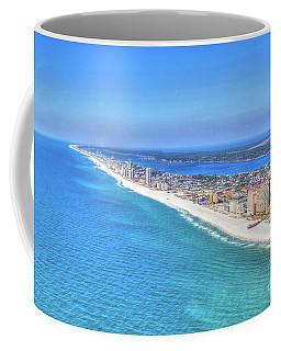 Gulf Shores Beaches 1335 Tonemapped Coffee Mug