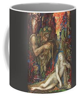 Gustave Moreau -paris, 1826-1898-. Galatea -ca. 1896-. Ink, Tempera, Gouache And Watercolour On C... Coffee Mug