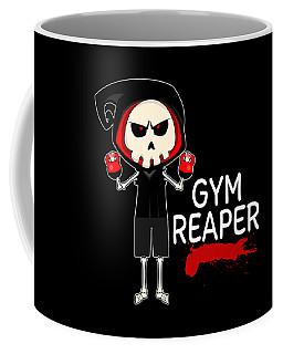 Gym Reaper Fitness Grim Reaper Training Coffee Mug