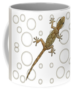 H Is For House Gecko Coffee Mug