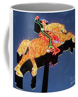 Hacienda Horse And Rider Night Coffee Mug