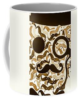 Hairy Hipster Coffee Mug