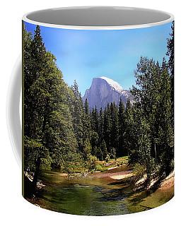 Half Dome From Ahwanee Bridge - Yosemite Coffee Mug