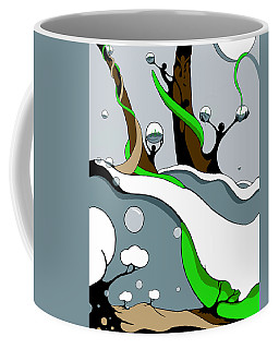 Half Full Coffee Mug
