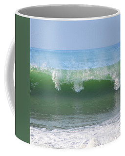 Coffee Mug featuring the photograph Half Monn Breaker by Mark Shoolery