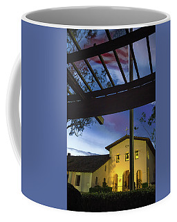 Coffee Mug featuring the photograph Half Staff At The Slo Mission by Mike Long