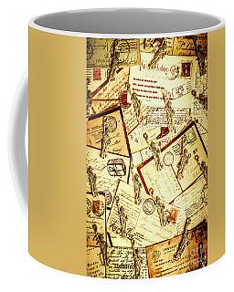 Hallmarks Of Travelling Old Coffee Mug