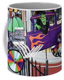 Halloween Pinwheel Coffee Mug