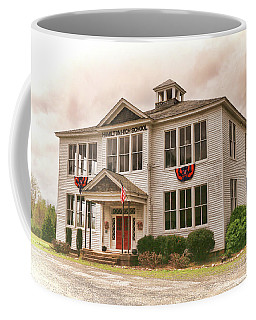 Coffee Mug featuring the photograph Hamilton High School In Cumberland County Virginia by Ola Allen