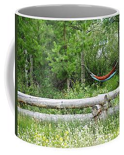Hammock In The Fields Coffee Mug