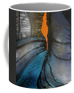 Coffee Mug featuring the painting Hancock Gorge by Joan Stratton