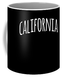 Hand California Coffee Mug