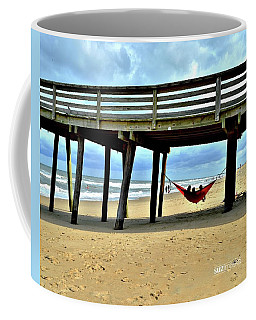 Hanging At Virginia Beach  Coffee Mug