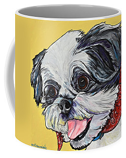 Happy As A Shih Tzu Coffee Mug