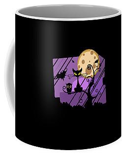 Happy Halloween Cat Coffee Mug