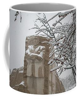 Happy Holidays At The King Memorial Coffee Mug