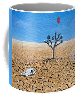 Coffee Mug featuring the painting Happy Little Tree by Kevin Daly