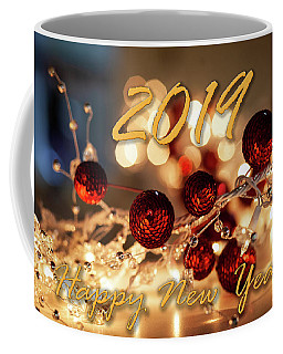 Happy New Year 2019 Coffee Mug