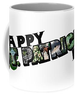 Happy St. Patrick's Day Big Letter Coffee Mug