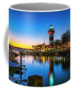 Harbor Town Lighthouse - Blue Hour Coffee Mug
