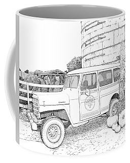 Harvest At Magnolia - Ink Coffee Mug