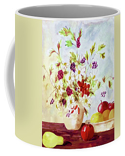 Harvest Time-still Life Painting By V.kelly Coffee Mug