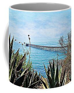Haskell Beach Pier Coffee Mug