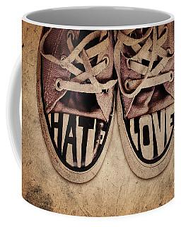 Hate And Love Coffee Mug