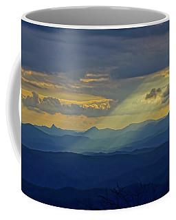 Hawks Bill Mountain Sunset Coffee Mug