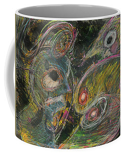 Coffee Mug featuring the painting He Met Her by Mark Jordan