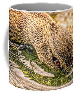 Head Dunking Duck Toned Coffee Mug