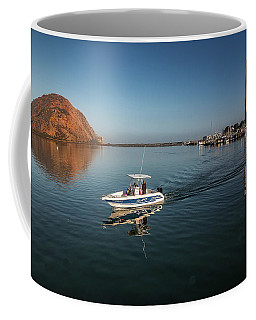 Coffee Mug featuring the photograph Heading Out Early by Mike Long