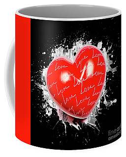Heart Art Coffee Mug
