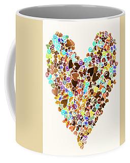 Heart Of A Hippie Coffee Mug